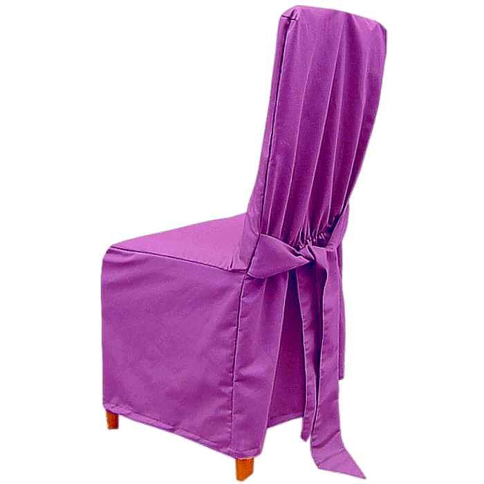 Návleky na stoličky fialový