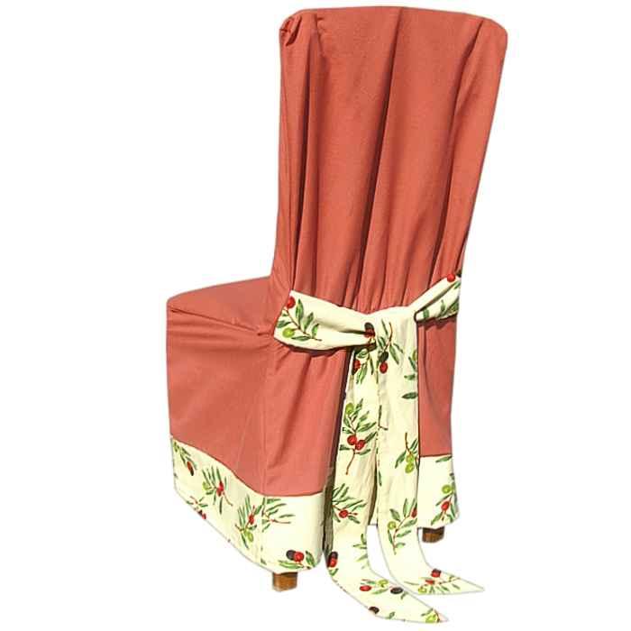 Návleky na stoličky orange